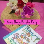 Fancy Nancy Birthday Party