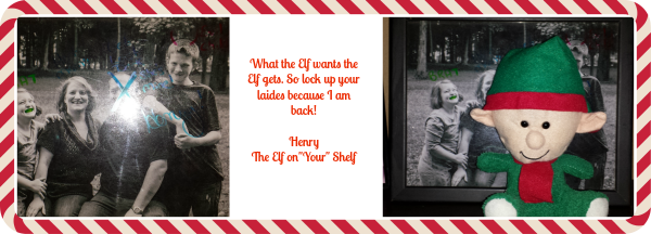 Elf on the shelf 123