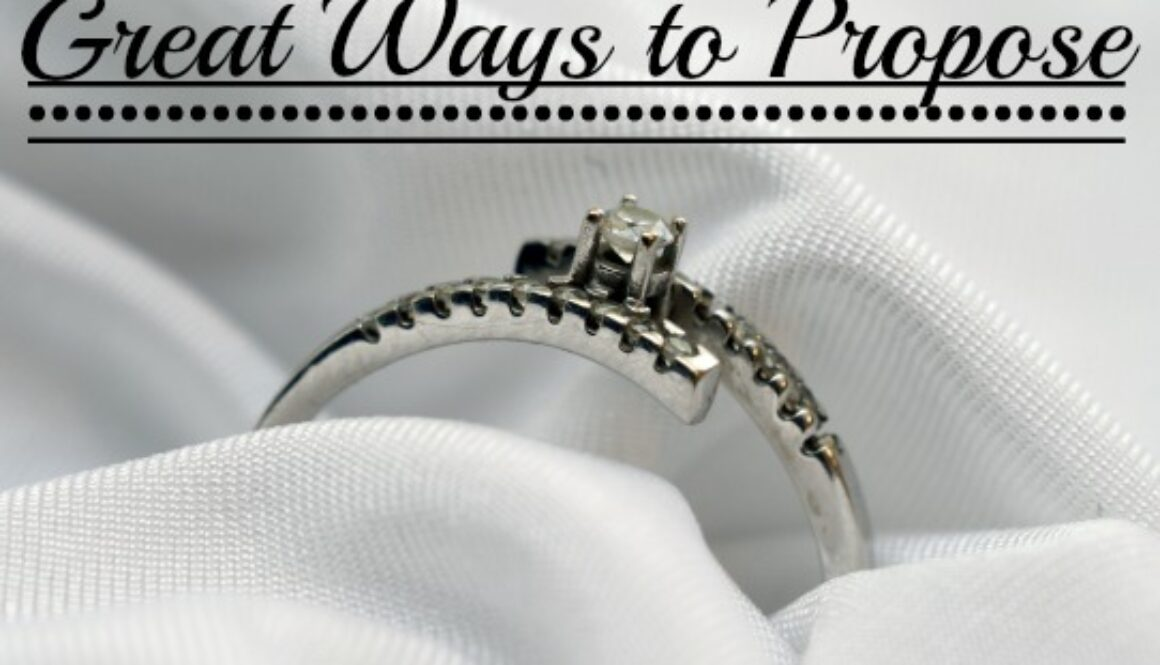 great ways to propose