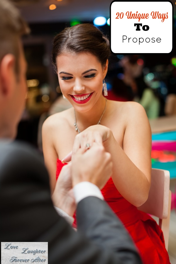 unique ways to propose