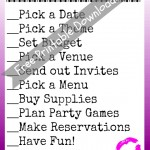 Free Printable Bachelorette Party Planning Checklist
