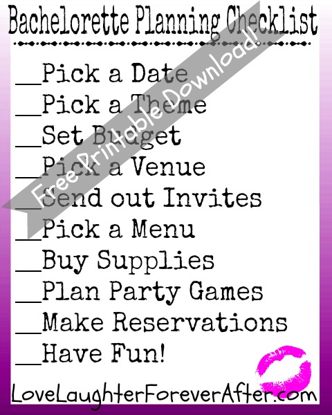 photo about Printable Bachelorette Games called Get pleasure from, Laughter, ForeverafterFree Printable Bachelorette