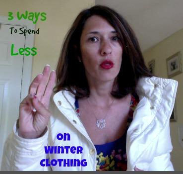saving money on winter clothes