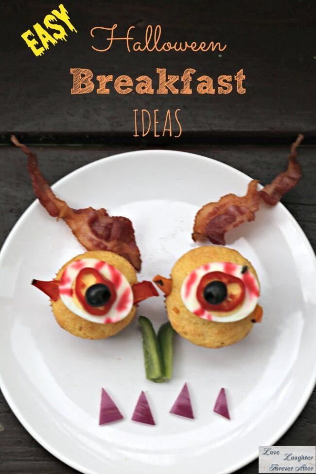 easy halloween breakfast ideas