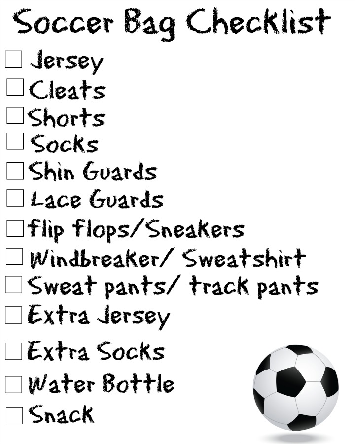 Love Laughter Foreveraftersports Bag Checklists Free