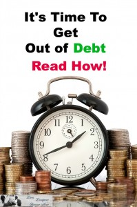 how to get out of debt and start over