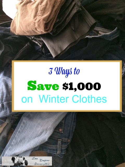 save on winter clothes