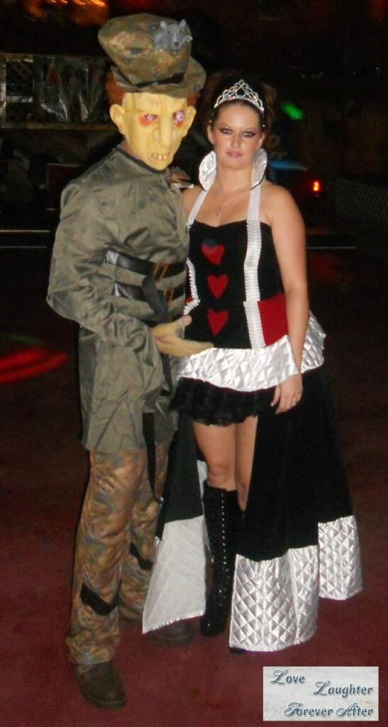 queen of hearts and mad hatter  sc 1 st  Love Laughter Foreverafter & Couple Halloween Costume Ideas - Love Laughter Foreverafter