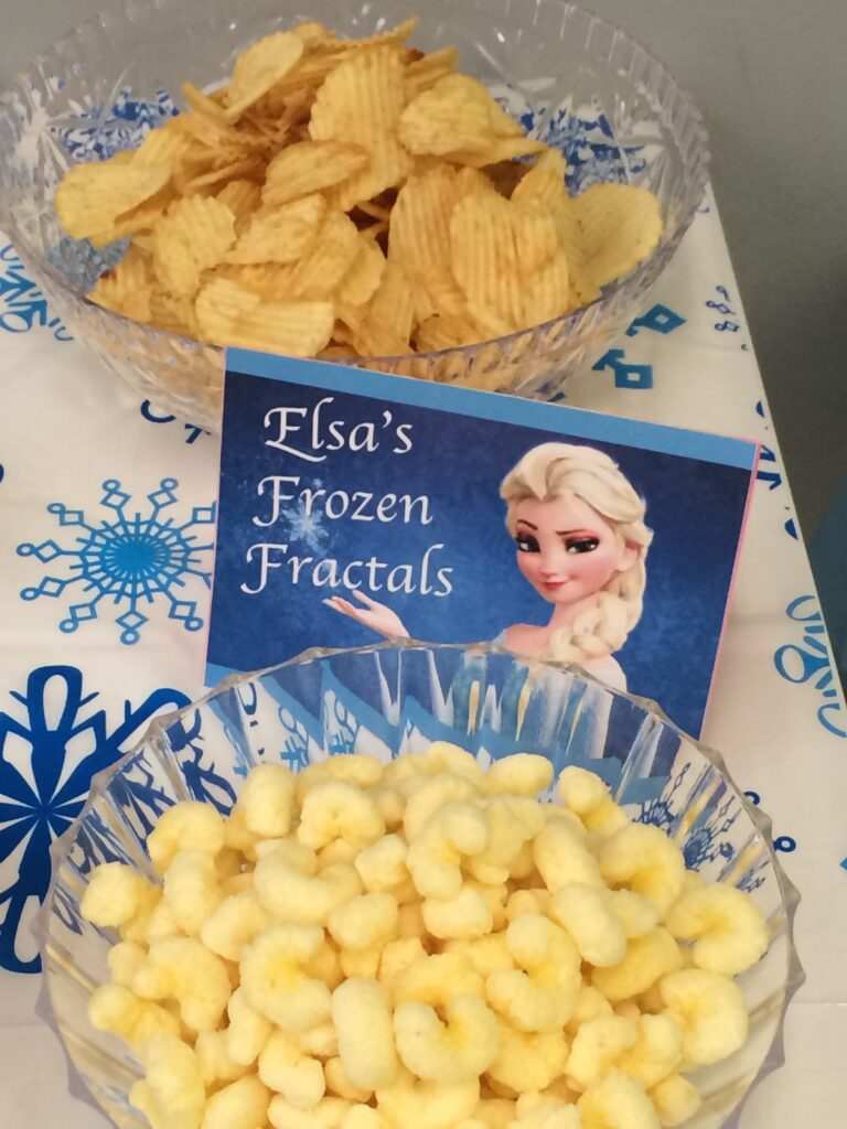 frozen food party ideas