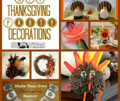 DIY Thanksgiving Party Decorations