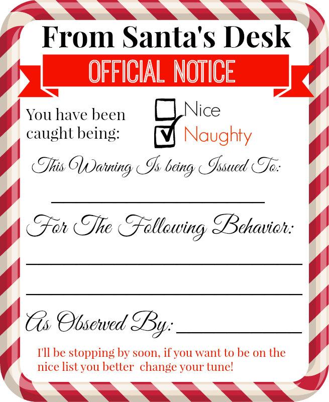 Love, Laughter, ForeverafterFree Printable Elf on the Shelf Notes