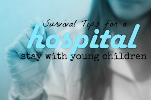 Great ideas for caring for and entertaining a child in the hospital for an extended stay.