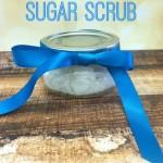 Sugar Scrub Homemade Gift