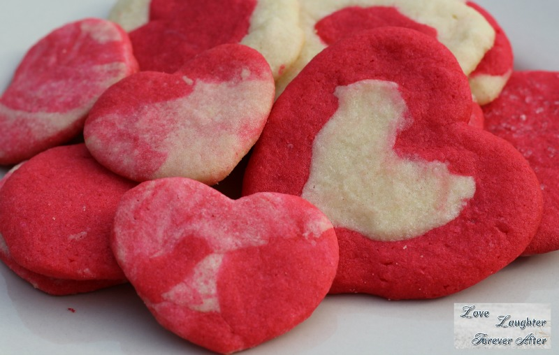 Valentine's Day Treats Ideas heart shaped sugar cookies