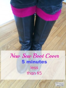 no sew boot covers