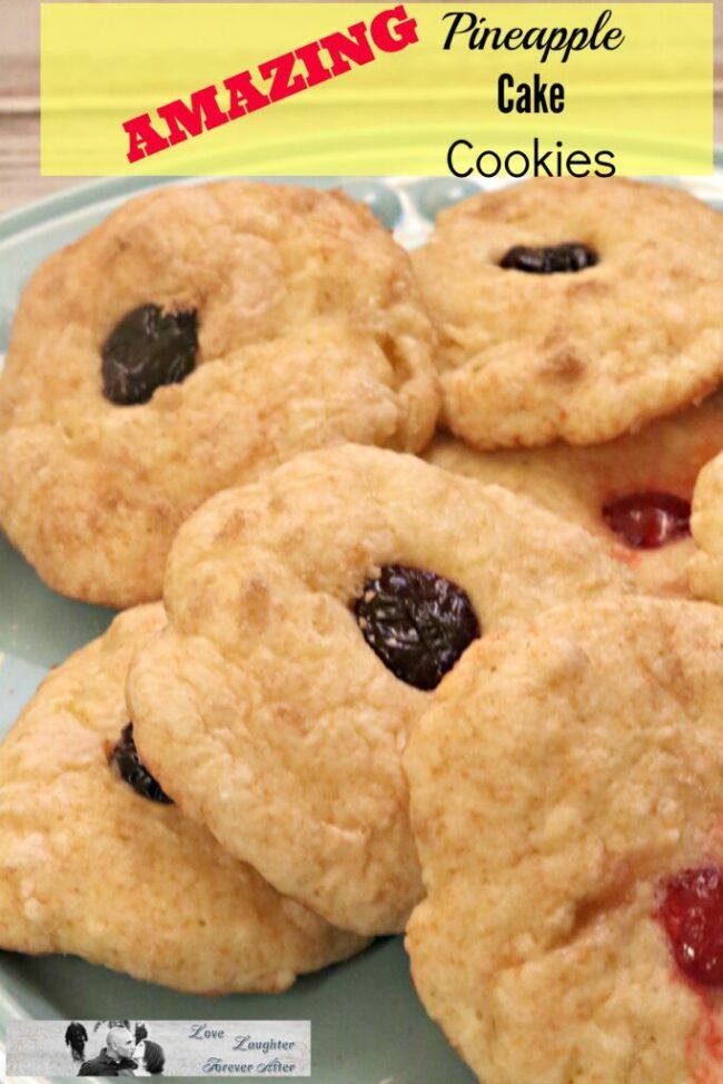 pineapple cake cookies