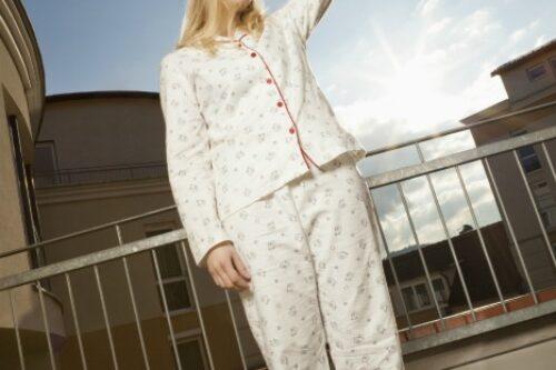 pajamas mom
