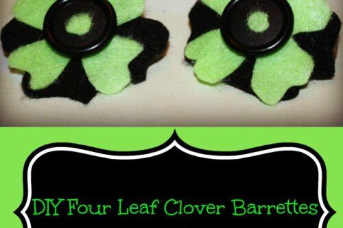 Clover-Barrettes