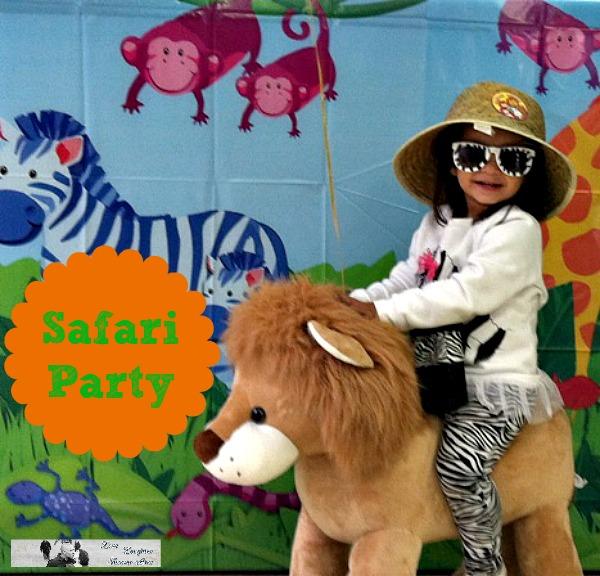 kids safari party