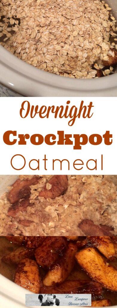 Prepare easy breakfast like this Overnight Crockpot Oatmeal recipe