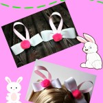 How to Make Easter Bunny Barrettes