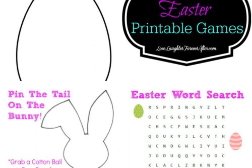 Free printable easter games
