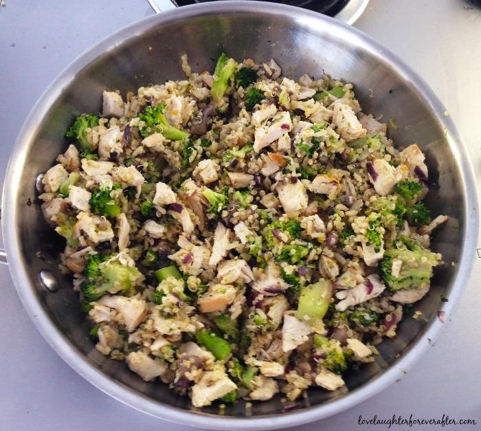 Organic Chicken & Quinoa Salad Recipe