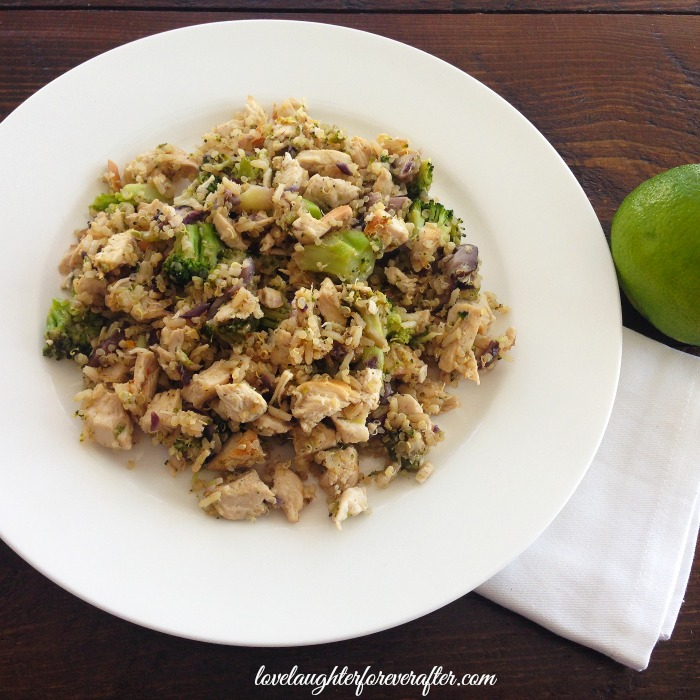 Organic Chicken with Quinoa Salad Recipe