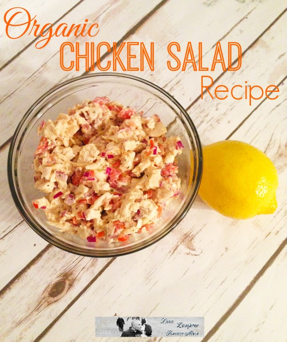 Tasty and easy to prepare Organic Chicken Salad Recipe