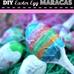 DIY Maracas Easter Egg Craft for Kids