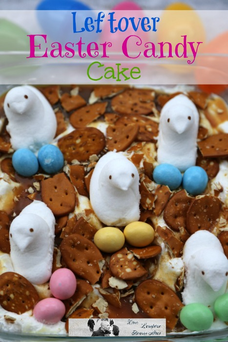 Leftover Easter Candy Cake Recipe