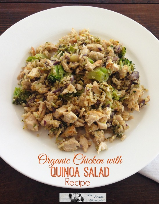Organic Chicken with Quinoa Salad Recipe