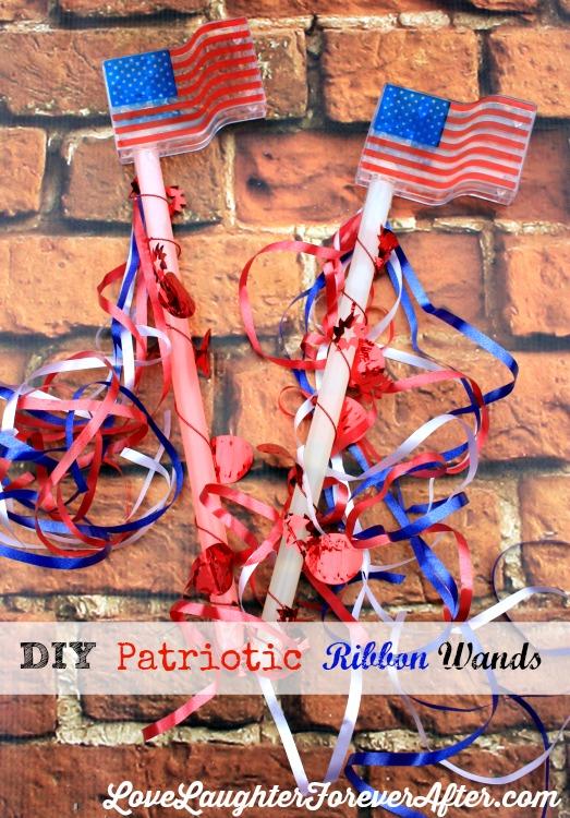 patriotic wands