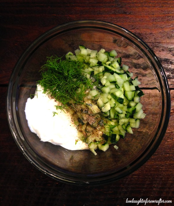 Easy Tzatziki Recipe - Love, Laughter, Foreverafter