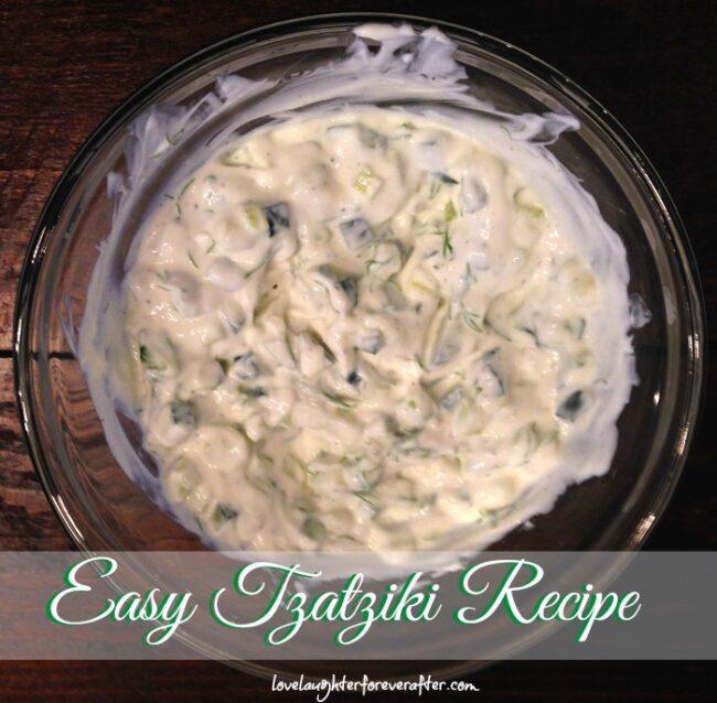 Easy Tzatziki Recipe