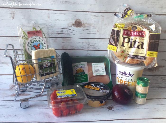 Organic Chicken Mediterranean Pita Pockets Recipe Ingredients