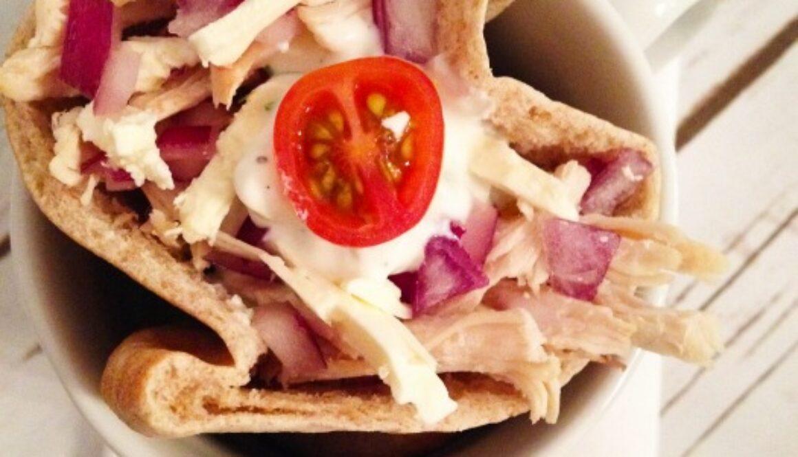 Organic Chicken Mediterranean Pita Pockets Recipe