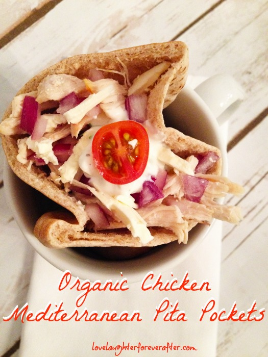 Organic Chicken Mediterranean Pita Pockets Recipe