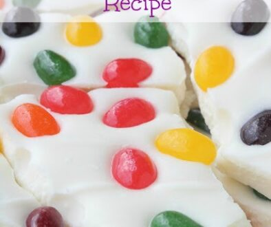 Starburst Jelly Bean Bark Recipe