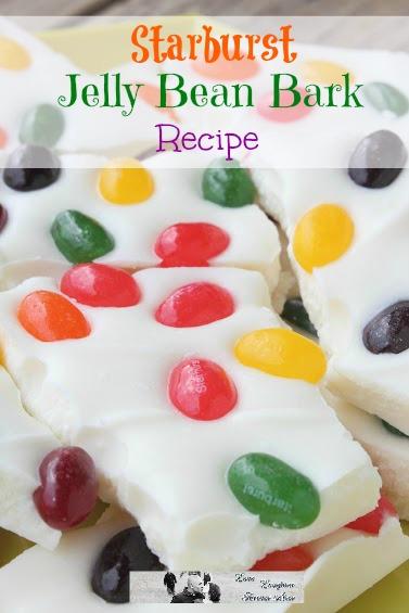 Starburst Jelly Bean Bark Recipe