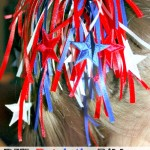How to Make Patriotic Ribbon Ponytail Streamers