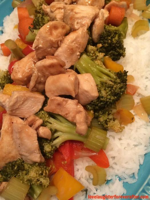 Easy Stirfry Chicken Recipe