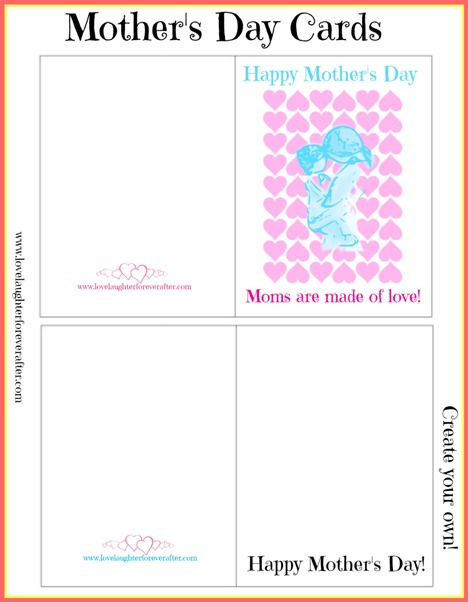 Printable Mother's Day Cards 2
