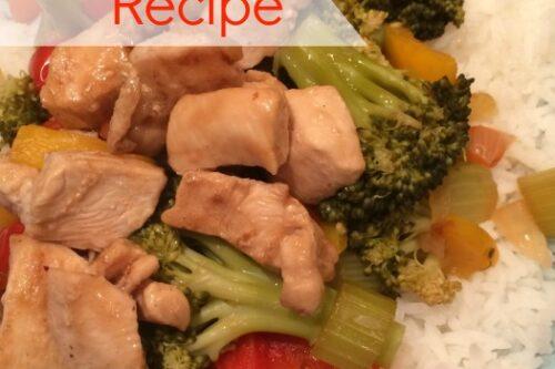 Stirfry Chicken Recipe