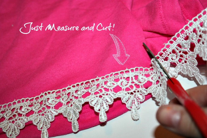 lace shorts how to