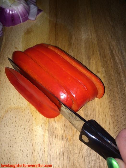 stirfry chicken bell pepper