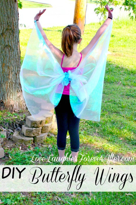 How to Make No-Sew Butterfly Wings