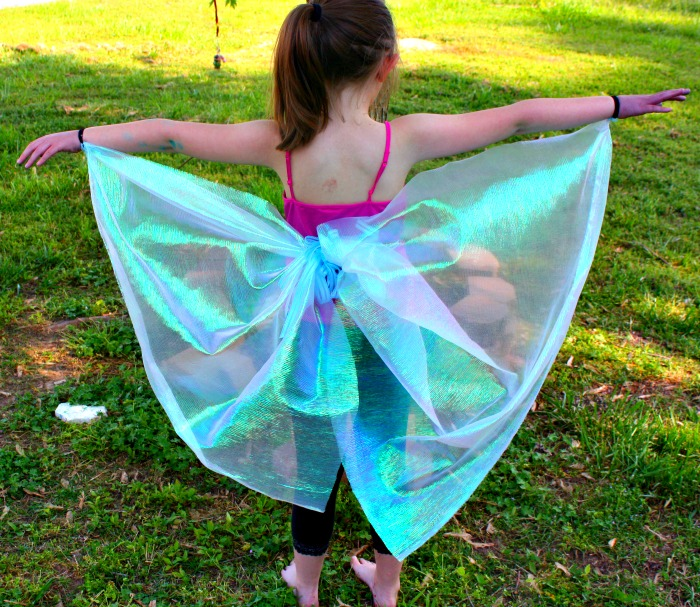 How to make butterfly costume wings - photo#6