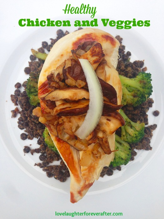 Healthy Chicken and Vegetables Recipe