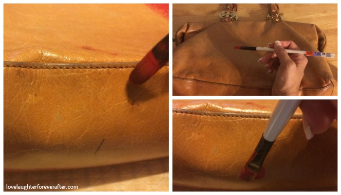 How to Paint Your Purse